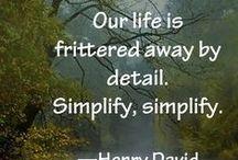 Simplify / by Julie C