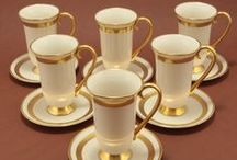 Go for the Gold! / Decorate your home with warm and elegant golden items.  / by Charmings Vintage Glass and Collectibles