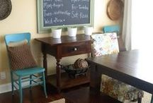 Dining Room / Décor Ideas and inspiration for the Dining room