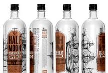 Wine, Beer, and Spirits Packaging Design / Wine, Beer, Whiskey, Gin, Vodka, Scotch, etc. Small batch, big batch. Bottom's up!