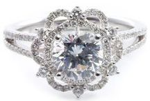 Unforgettable Engagement Rings / Unique engagement rings for a one-of-a-kind love.