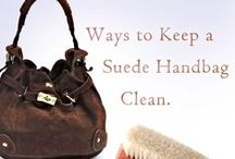 Preserving Luxury Handbags / Ideas to keep your handbags clean and looking new for years to come.