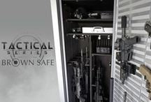 Gun Safes & Tactical Safes / The ultimate security to store and guard your weapons and tactical gear.