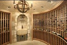 Wine Cellars / Incredible wine cellars for extensive collections.