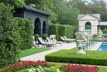 Luxury Landscapes / Outdoor designs and features of luxury estates.