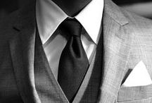 Gentleman's Style / Regal, sophisticated, and refined fashion style inspirations for men.