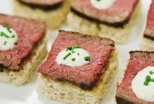 Party Appetizers / Hors d'oeuvres http://www.benedictscaterers.com/horsdoeuvres-menu/