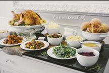 Thanksgiving Inspiration & Recipes / Menu and table design inspiration.