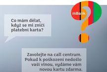 Často se nás ptáte / Časté dotazy zákazníků mBank