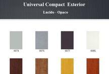 Universal Compact Exterior / Selezione Colori Compact Exterior