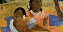 Paul Gauguin / French post-Impressionist artist