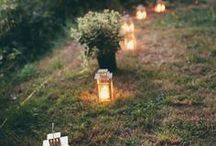 Garden Wedding Inspiration / Ideas for brides and grooms planning a garden or marquee wedding.