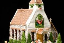Gingerbread House Ideas / Gingerbread House Ideas
