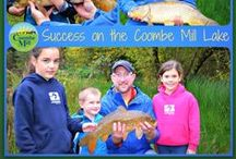Lakes & River at Coombe Mill / by Coombe Mill Family Farm Holidays