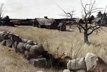 ARTWORK~ landscapes~dwellings / by Patti Umlauf