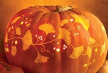 Melon carvings and creations / a collection of pumpkin carvings and painted pumpkins / by Patti Umlauf