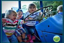 Outdoor Play Areas at Coombe Mill / Things we have and ideas for the future to make our play areas where kids want to be seen. / by Coombe Mill Family Farm Holidays