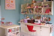 Sewing: Sewing Room / by Karen