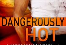 Dangerously Hot (A Hostile Operations Team Novel)(#4) / Concept board for Book 2 in my Hostile Operations Team series.