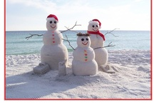 Pink and White Beach Christmas / Dreaming of a glittery ~PINK and WHITE~ BEACH Christmas
