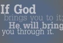 Faith - Hope - God / by Lori Fitz
