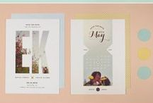 Wedding Stationary Ideas / Wedding stationary ideas for modern weddings. Fun, quirky, classical, romantic stationary.