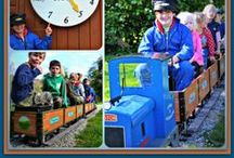 Coombe Mill Railway / Run times on holiday at Coombe Mill with train rides daily from 4pm all included in your stay. / by Coombe Mill Family Farm Holidays