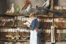 ThE NaTuRaLiST / The beauty of nature is my sanctuary... I would never kill any living thing to collect it... just love the old collections , hopefully we are all more enlightened than that now though... / by VinTaGe MaMa -Constance Summeier