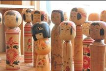 KoKeSHi DoLLS / by VinTaGe MaMa -Constance Summeier