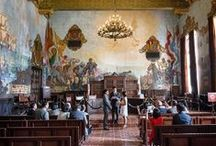 Weddings ; Santa Barbara  / Courthouse / Santa Barbara is a fabulous town! The Courthouse is a must see and I love to photograph weddings in this Spanish Moorish Palace. LA wedding photographer  #santabarbara #santabarbaracourthouse #innesphotography #LAweddingphotographer www.innesphotography.com http://williaminnes.com/blog/