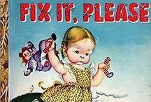Vintage Children's Books & Illustrations