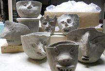 Ceramics / Ceramics, planters, clay, prints, ideas, patterns, diy