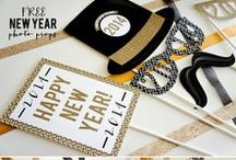 Holidays | New Years / New Years Crafts, Party Favors and Ideas, and Printables / by Beckie Farrant {infarrantly creative}