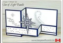 Christmas Card ideas - Stampin Up / paper crafting projects for the Christmas Season created with Stampin' Up Products  you can order your supplies through me here:  http://stampinwithsandi.com/  Canadian Stampin Up Demonstrator, stampin with sandi, sandi maciver, card making blog, paper crafting, free stamping videos, free stamping tutorials, stampin up card ideas, stamping techniques