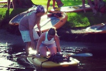 Stand Up Paddle Peeps / Some of the great peeps we  have paddled with. / by Yoga Energy Studio