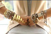 Bracelets, Bangles, Cuffs = Beautiful!  / by Leah Olivia Oliveira