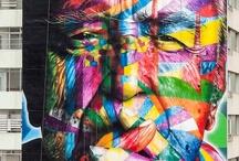 Wall Book & Street Art / ideas for my wall book journal