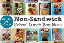 Breakfast and School lunch ideas