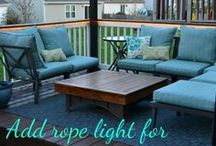 Outdoor Living Ideas / I love spending time outdoors with family and friends. This board is filled with DIY ideas to create beautiful patios, decks, and porches on a budget of course! It also includes fun FIY backyard ideas. #backyard_landscape_design #backyard #backyardbetter #backyardideas #patio #outdoorspace #outdoorfurniture #outdoordecor #grilling #landscape #landscapeideas #landscapedesign