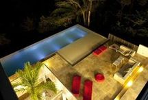 POOLS, Water features / Indoor and outdoor pools, water features / by Teee Geee
