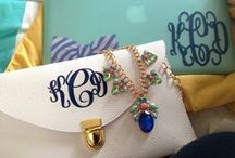 Monogram Everything!! / Monograms, monograms and more monograms. / by Galina Semenenko