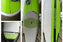 Coreban Paddle Boards / We are the Coreban Dealer in the Tampa Bay Area of Florida. We ship east of the Mississippi and the Gulf Coast of Texas. If we do not have the Coreban paddle board that you want in stock, please contact us and we will special order it for you. 727-466-7994.  / by Yoga Energy Studio