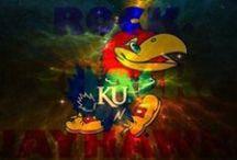 Rock, Chalk, Jayhawk, KU!