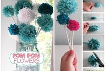 Pom Poms and Tulle