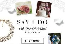 Say I Do / From gowns to gifts, we have some beautiful products from local shops across the United States that will turn your dream wedding into a reality.