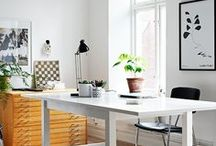 studio / Ideas and decor for my studio and office interior