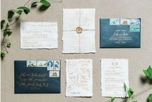 Top 10 Invitations / A collection of my ten favorite wedding or party invitations of all time.