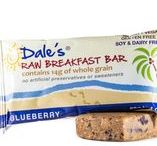 Breakfast Bars / Dales Raw Breakfast Bars have 12g plant based protein with 14g whole grains from organic gluten free oats.