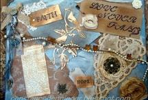 Keep the Faith Art /  Creative designs that add to the Visual Dimension of Faith Life- as well as gathered Keep the Faith logos, Design Team examples