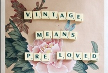 All Things Vintage / All things previously loved in another life